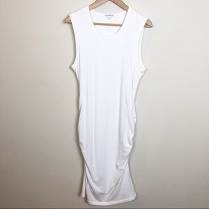 James Perse Dresses - Standard James Perse Skinny Tucked Tank Dress 4/XL